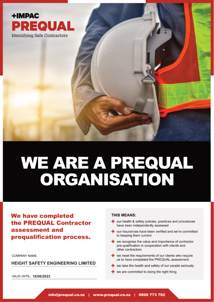 Contractor Prequalification Certificate 2021